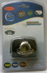 Head lamp 3+3 led
